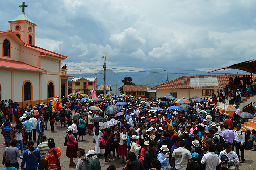 Mons. Marcos Pérez visitó Andacocha